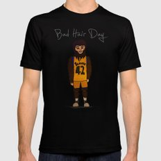 bad hair day no:2 / Teen Wolf Mens Fitted Tee MEDIUM Black
