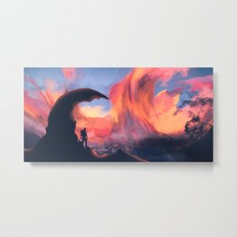 I Am Breathtaking Metal Print