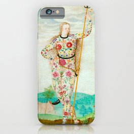 A YOUNG DAUGHTER OF THE PICTS - JACQUES LE MOYNE DE MORGUES iPhone Case