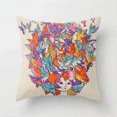 Birdy Throw Pillow
