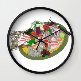 Gorgeous Sashimi Set from Mr Sasaki Wall Clock