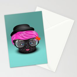Lil' Poison Cupcake Stationery Cards