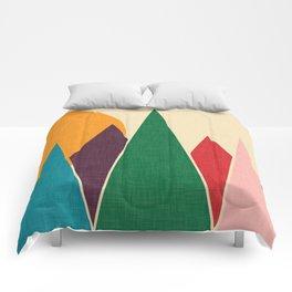 solar mountain #homedecor #midcentury Comforters