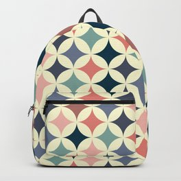 Colorful mid century inspiration Backpack