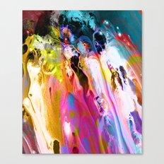 Self-Conscious Sparks Canvas Print