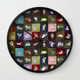 Positively Dog Street Wall Clock