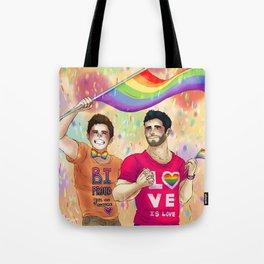 Sterek Pride Print Tote Bag