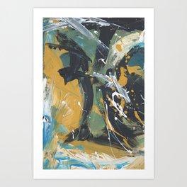 Senza sonno Art Print