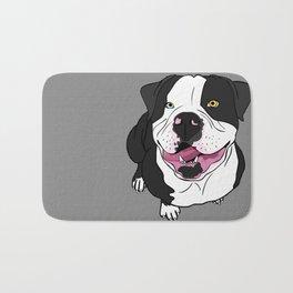 Bubba, the American Bulldog Bath Mat