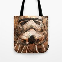 storm Tote Bags featuring Storm by Eric Fan