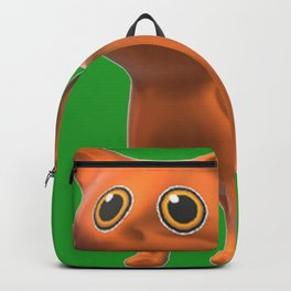 Orange Cat Backpack