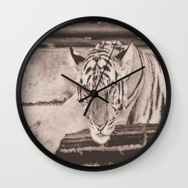 Kitty Noir, Indochinese Tiger Wall Clock