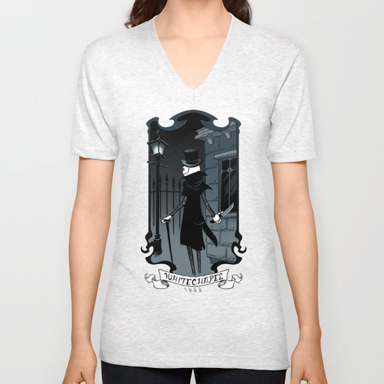 Jack the Ripper Unisex V-Neck