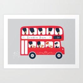 All aboard! Art Print