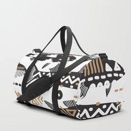 Boho Fishes Duffle Bag