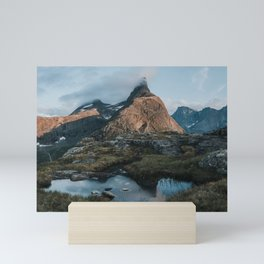Romsdalshorn - Landscape and Nature Photography Mini Art Print