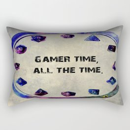 Dungeon time Rectangular Pillow