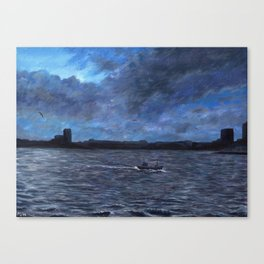When the Boat Comes In Canvas Print