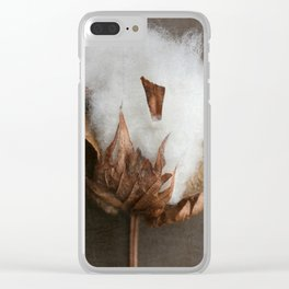 Cotton Clear iPhone Case