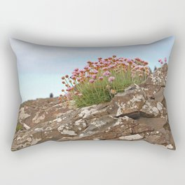 Giant's Causeway flowers Rectangular Pillow