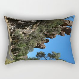 Scenic Bonita Canyon Road Rectangular Pillow