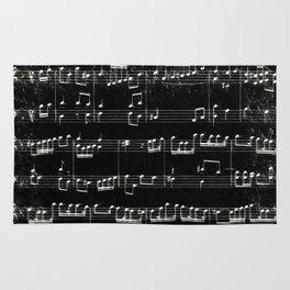 Nota Bene (black) Rug