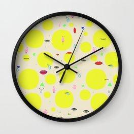 Boom print Wall Clock