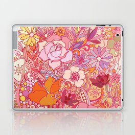 Detailed summer floral pattern Laptop & iPad Skin