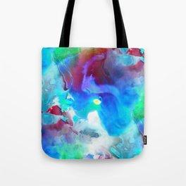 Acid clouds Tote Bag