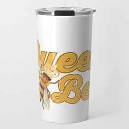 Beekeeper Fun Queen Bee Beekeeper Gift Travel Mug