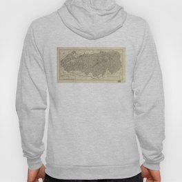The Great Smoky Mountains National Park Map (1935) Hoody