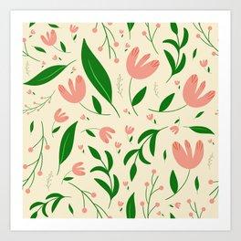Summery Bliss Art Print