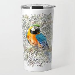 The macaw - Rainforest Series Travel Mug