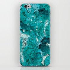 Blue depths iPhone Skin