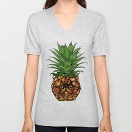 Pineapple Persian Cat Unisex V-Neck