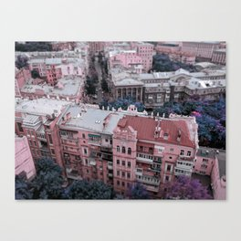 Kiev city Canvas Print