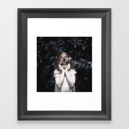 Mystical nature's portrait III Framed Art Print