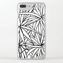 Simple Plants IV Clear iPhone Case