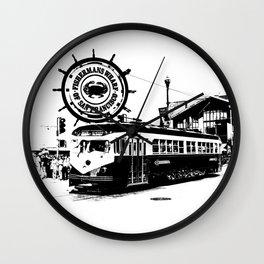 Fisherman Wharf, San Francisco Wall Clock
