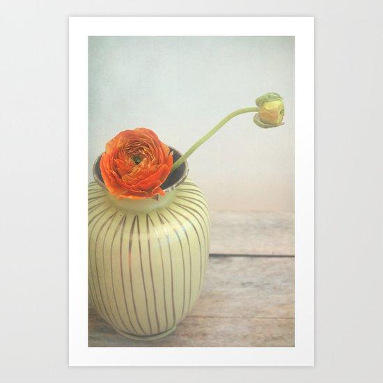 vintage buttercup Art Print