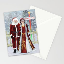 With love from the North Pole Stationery Cards