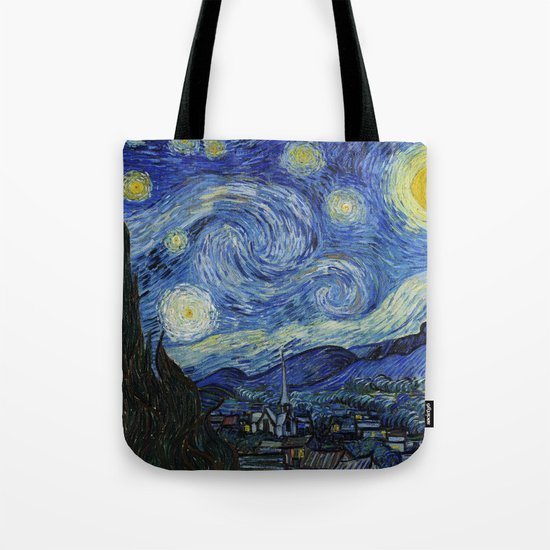 Starry Night by Vincent van Gogh by palazzoartgallery