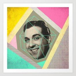 caged man, mariano Art Print
