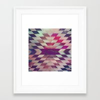 prism Framed Art Prints featuring Prism by Ashley Keeley