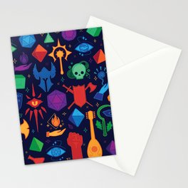 DnD Forever - Color Stationery Cards