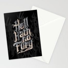 Hell Hath No Fury Stationery Cards