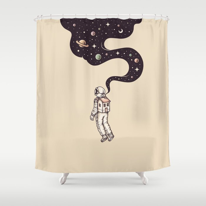 Homesick Shower Curtain