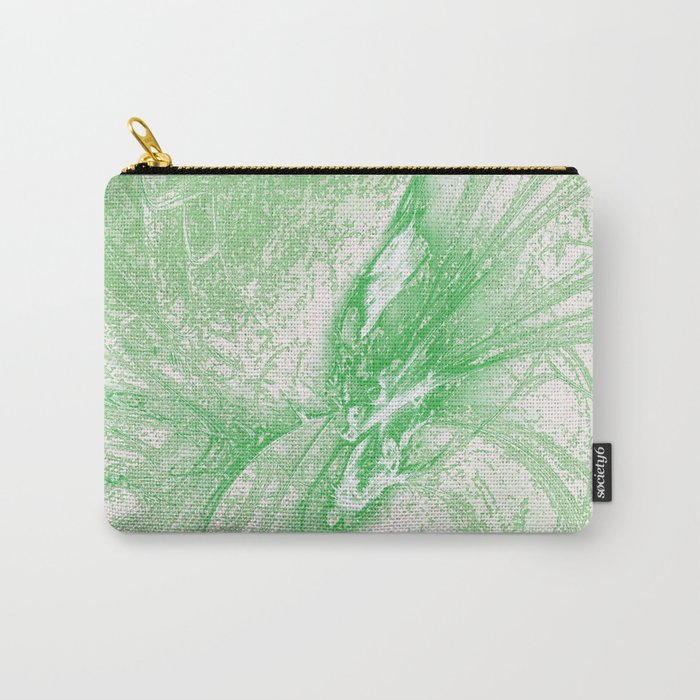 Splatter in Limeade  Carry-All Pouch