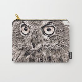 Rustic Style - Owl Carry-All Pouch