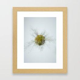 Memories of green Framed Art Print
